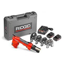 """RIDGID 43433, RP 200-B PRESS TOOL KIT - W/PRO PRESS JAWS (1/2"""" TO 1"""") - 43433"""