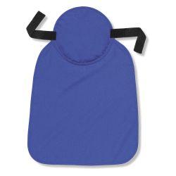ERGODYNE 12336, CHILL-ITS 6717 EVAP-COOL HARD - HAT PAD W/ NECK SHADE BLUE - 12336