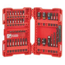 MILWAUKEE 48-32-4006, DRILL & DRIVE SET 40 PC - SHOCKWAVE 48-32-4006