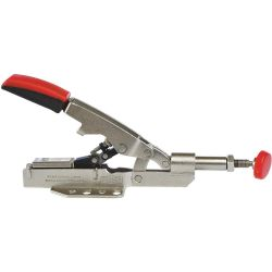 "BESSEY TOOLS STC-IHH25, CLAMP-INLINE WITH FLANGED BASE - 0-5/8"" OPENING, 700 LBS. CAP. - STC-IHH25"