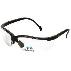 PYRAMEX SB1810R10, GLASSES SAFETY - V2 READER 1.0 - CLEAR LENS BLACK FRAME SB1810R10