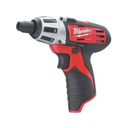 MILWAUKEE 2401-20, M12 CORDLESS SCREWDRIVER- BARE - TOOL 2401-20