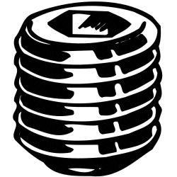 BRIGHTON-BEST 101583, SOCKET SET SCREW- CUP POINT - 1/2-13 X 2 NC 101583