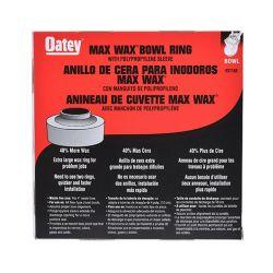 "OATEY 31188, FLANGED KANTLEAK -BOWL RING - LARGE ""MAXWAX"" WAX (TOILET) 31188"