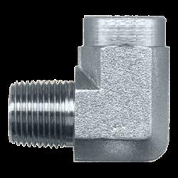FAIRVIEW S1016D, 90 ELBOW - STEEL - 1/2 MPTX1/2 FPT #25UG08 S1016D