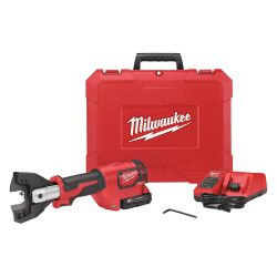 MILWAUKEE 2672-21, CABLE CUTTER KIT-FORCE LOGIC - M18 C/W 750MCM CU JAWS 2672-21