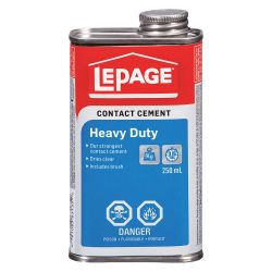 HENKEL LEPAGE 1504724, CONTACT CEMENT 250 ML - HEAVY DUTY LCP506 1504724