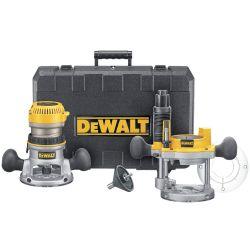 DEWALT DW618PK, 2 HP FIXED & PLUNGE - BASE ROUTER KIT DW618PK