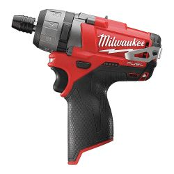 """MILWAUKEE 2402-20, SCREWDRIVER-M12 FUEL 2 SPEED - 1/4"""" HEX (TOOL ONLY) 2402-20"""
