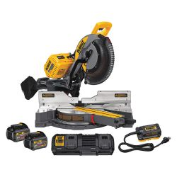 "DEWALT DHS790AT2, MITRE SAW-120V MAX FLEXVOLT - 12"" DUAL BEVEL SLIDING W/2 DHS790AT2"