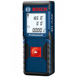 "BOSCH GLM165-10, LASER DISTANCE MEASURE 165' - BLAZE ONE +/- 1/16"" GLM165-10"