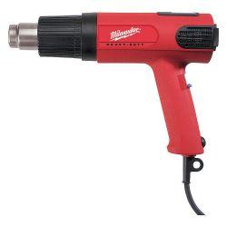 MILWAUKEE 8988-20, VAR TEMP HEAT GUN, 90DEG F - 1050DEG F, W/LED DIGITAL READ - 8988-20