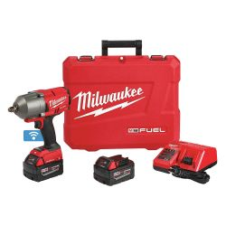 "MILWAUKEE 2863-22, IMPACT WRENCH -1/2"" HI-TORQUE - M18 FUEL W/ FRICTION RING KIT 2863-22"