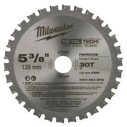 "MILWAUKEE 48-40-4070, BLADE-CIRCULAR SAW - 5-3/8"" X 30 T FERROUS 48-40-4070"