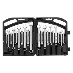 STANLEY 85-783, WRENCH SET-COMBINATION SATIN - 20 PC 1/4 - 7/8 85-783