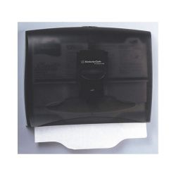 "KIMBERLY-CLARK 09506, PERSONAL TOILET SEAT COVER - DISPENSER BLK 13.35""T X 17.5"" 09506"
