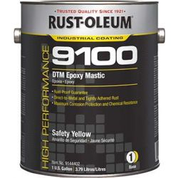 RUST-OLEUM 9144402, DTM EPOXY MASTIC 1 GAL - SAFETY YEL ACTIVATOR SOLD SEP - 9144402