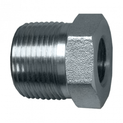 FAIRVIEW S1010EB, BUSHING - STEEL - 3/4 MPTX1/4 FPT #0102-12-04 - S1010EB