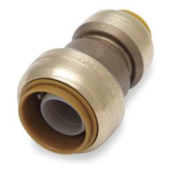 """COUPLING-REDUCING QUICKCONNECT - 3/4"""" X 1/2"""" CTS (STRAIGHT) LF"""