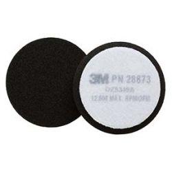 "3M 7100085944, PAD - BUFFING BLACK 3-1/2"" - FINESSE-IT 7100085944"