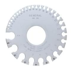 GENERAL TOOLS 20, AMERICAN STANDARD WIRE GAGE - (ROUND) 20