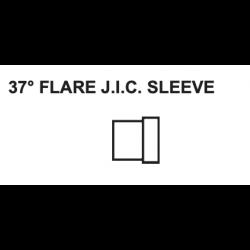 "PAULIN / DOMINION FITTINGS DS359-4, STEEL TUBE SLEEVE JIC 1/4"" - 06S-4 DS359-4"