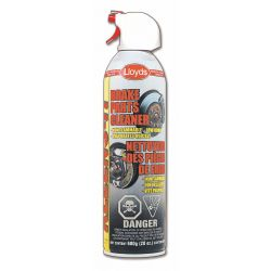 LLOYDS LABORATORIES 51320, CLEANER-BRAKE PARTS LLOYDS - NON-FLAMMABLE 500G/20 OZ 51320