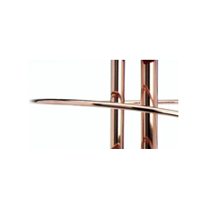 """WFS APPROVED 201212020, COPPER PIPE- TYPE M 12' LEN - 2"""" 3RD PARTY CERTIFIED 201212020"""