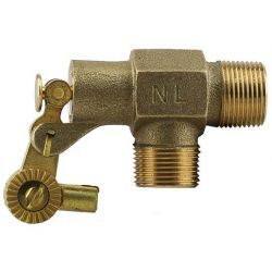 "BOSHART INDUSTRIES 28-BFV-07NL, FLOAT VALVE - BRASS 3/4"" - 3/4"" IN 3/4"" OUT NO LEAD 28-BFV-07NL"