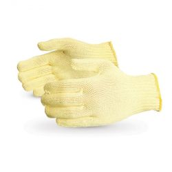 SUPERIOR GLOVE SK-SML, GLOVE-KEVLAR CUT RESISTANT - YELLOW SMALL - SK-SML
