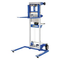 VESTIL A-LIFT-S, HAND WINCH LIFT TRUCKS 500LB - CAPACITY STRADDLE DESIGN A-LIFT-S