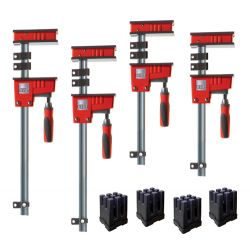 "BESSEY TOOLS KRK2440, FIXED JAW PARALLEL CLAMP KIT - K BODY REVO 24"" & 40"" CLAMPS KRK2440"