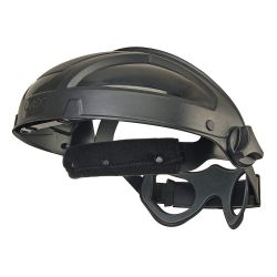 HONEYWELL UVEX S9500, RATCHET HEADGEAR - UVEX TURBOSHIELD BLACK S9500