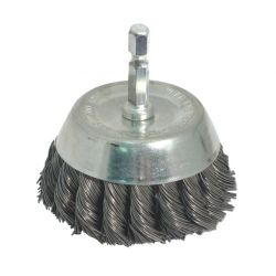 """ROK 45154, END CUP BRUSH 3"""" KNOT 45154"""