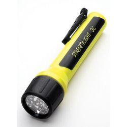 STREAMLIGHT 33212, 3C LED W/BLUE LEDS WITHOUT - BATT YELLOW 33212