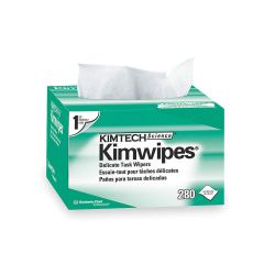 "KIMBERLY CLARK KIMTECH 34155, LENS CLEANING WIPES - 4.5"" X 8"" 280/BOX 34155"
