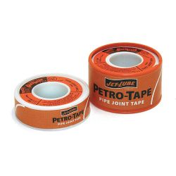 JET-LUBE 30793, SEALANT THREAD PETRO-TAPE - 1/2 X 540IN 30793