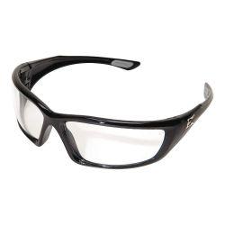 WOLF PEAK INTERNATIONAL EDGE EYEWEAR XR-XL411VS, GLASSES - SAFETY ROBSON BLACK - XL CLEAR VAPOR SHIELD LENS XR-XL411VS