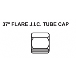 "PAULIN / DOMINION FITTINGS DS356-4, STEEL JIC CAP 1/4"" - 06CP-4 DS356-4"