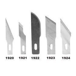 GENERAL TOOLS 1920, 5 BLADES FOR NO. 1901 KNIFE 1920