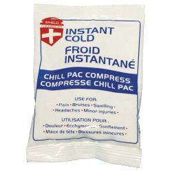 """INSTANT COLD PACK SMALL - 4"""" X 6"""" 10 CM X 15 CM"""