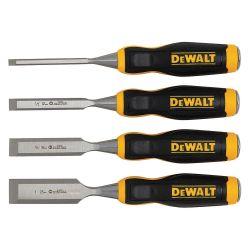 DEWALT DWHT16063, SHORT BLADE WOOD CHISEL - 4/PK DWHT16063