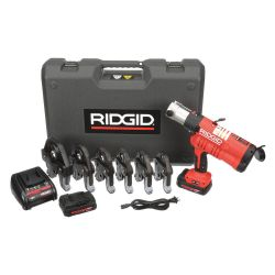 RIDGID 43358, RP 340 BATTERY PRESS TOOL KIT - W/PROPRESS JAWS 1/2 - 2 - 43358
