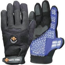 IMPACTO BG408M, GLOVE-ANTI-VIBRATION - AIR FILLED MECHANICS MED - BG408M