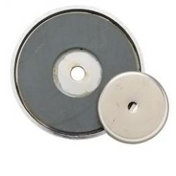 "GENERAL TOOLS 376B, SHALLOW POT MAGNET (2"" DIA.) 376B"