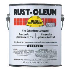 RUST-OLEUM 206193, ZINC RICH COLD GALV COMP - 1 GAL 206193