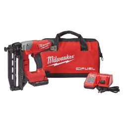 MILWAUKEE 2741-21CT, STRAIGHT FINISH NAILER - 16GA - M18 FUEL W/BELT CLIP AND BAG 2741-21CT