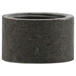 "BOSHART INDUSTRIES BLMHC-10, STEEL HALF COUPLING-BLACK - 1"" THREADED - BLMHC-10"