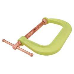 """JPW INDUSTRIES, INC. WILTON 20483, CLAMP """"C"""" FORGED 4"""" - COPPER PLATED SCREW HIGH VIZ. 20483"""