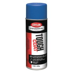SHERWIN WILLIAMS KRYLON A01008007, PAINT-TOUGH COAT ENAMEL FSTDRY - 12 OZ AERO (MEDIUM)FORD BLUE* A01008007
